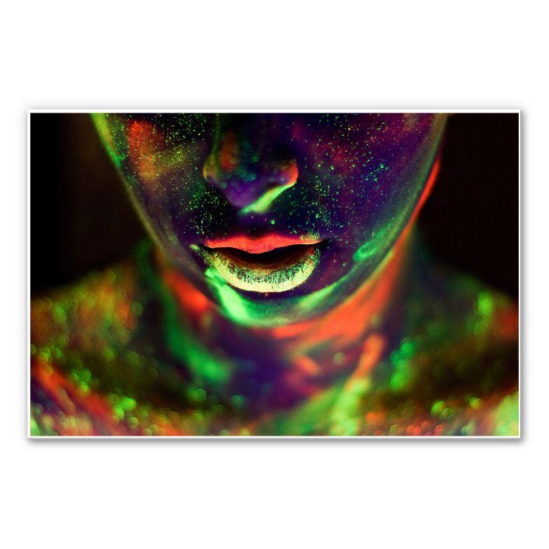 Wandbild Kokdemir - In Farbe getaucht