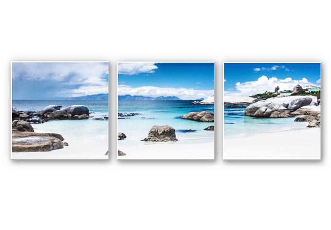 Wanddecoratie Westerse Kaap - Panorama