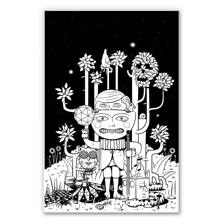 Wandbild Drawstore - In the Woods