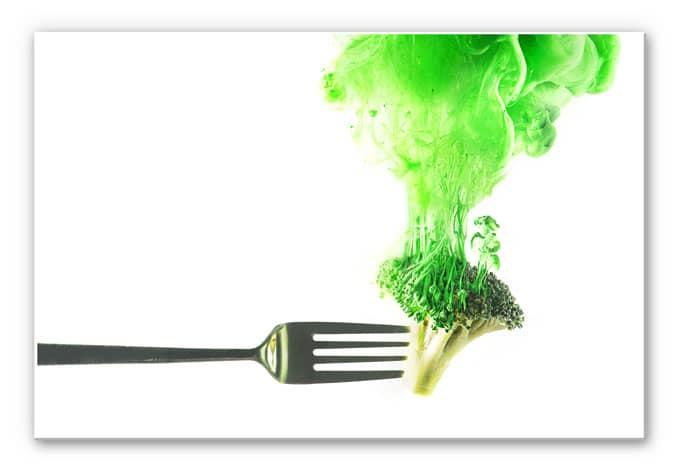 Wandbild Belenko - Steamed Broccoli