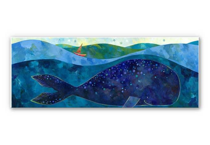 Wandbild Blanz - Der Walfisch