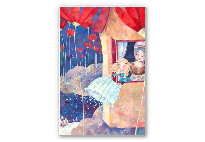 Wandbild Blanz - Frau Holle