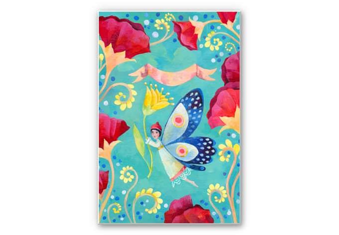 Wandbild Blanz - Schmetterling