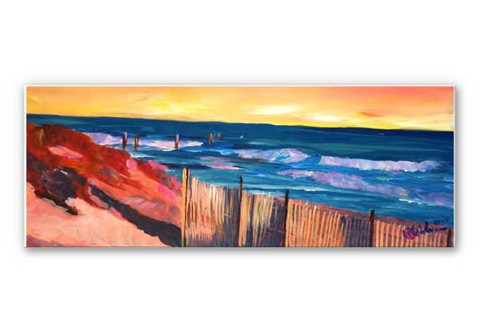 Wandbild Bleichner - Die Hamptons - Panorama