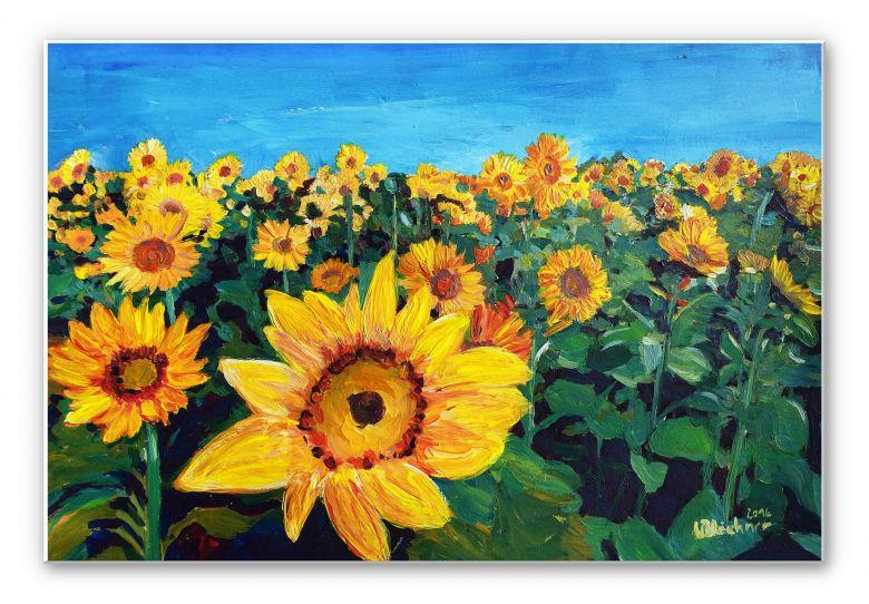 Wandbild Bleichner - Sunflower Fields