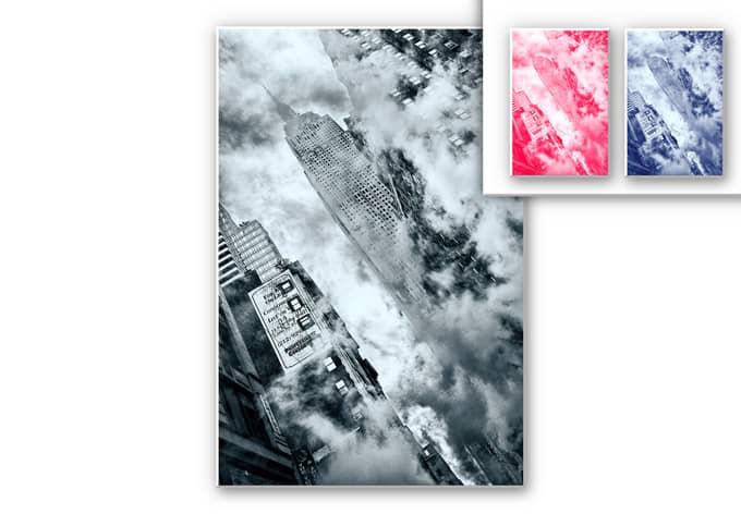 Wandbild Bravin - Die Straßen von NYC