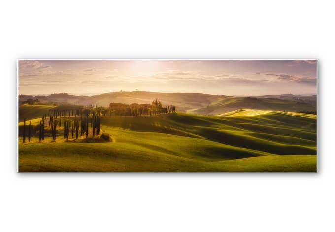 Wandbild de la Torre - Toskana - Panorama