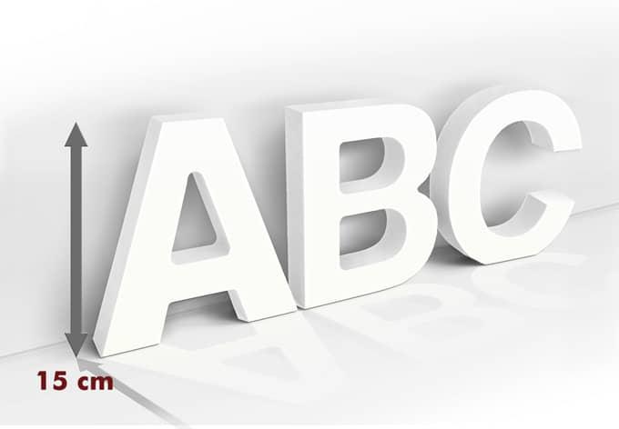 15 cm Deco Letters 3D letter