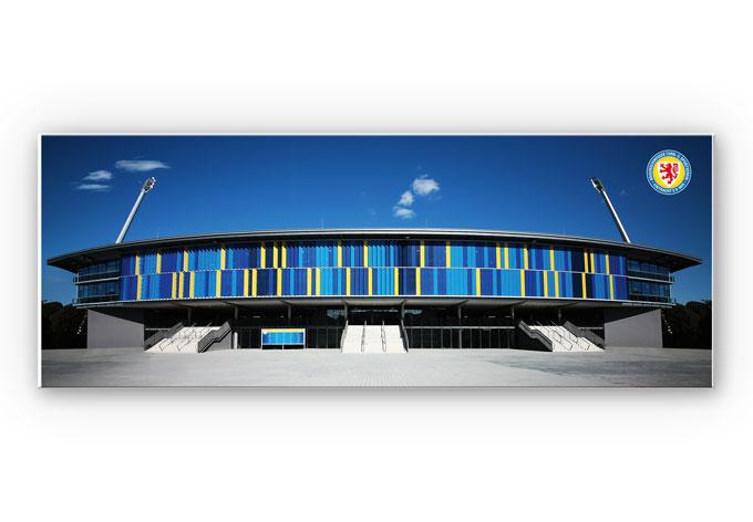 Wandbild Eintracht Braunschweig Stadion - Panorama