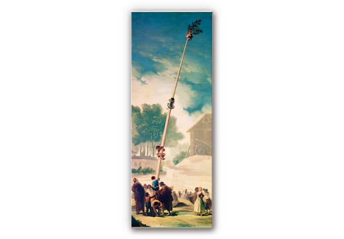 Wandbild de Goya - Der Maibaum - Panorama