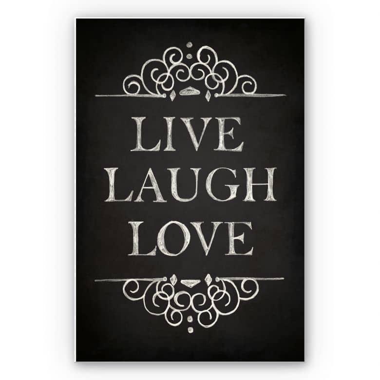 Wanddecoratie Forex Live Laugh Love