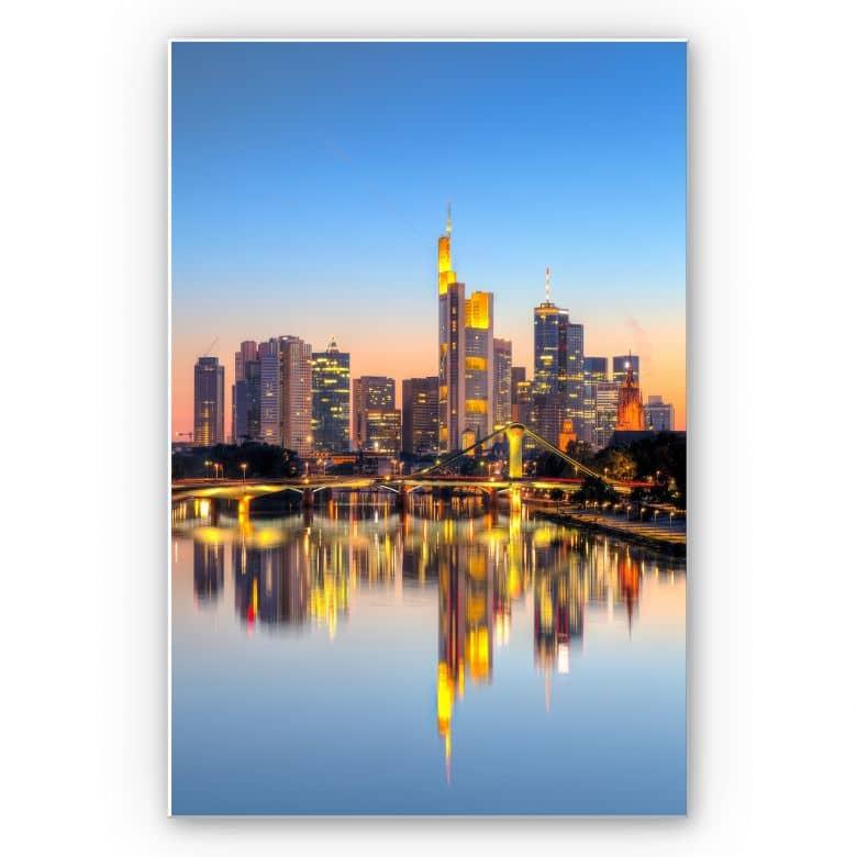 Wandbild Frankfurter Lichter
