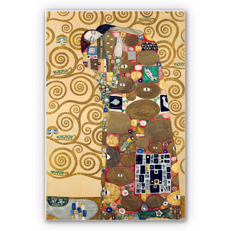 Forex print Klimt - The fulfillment