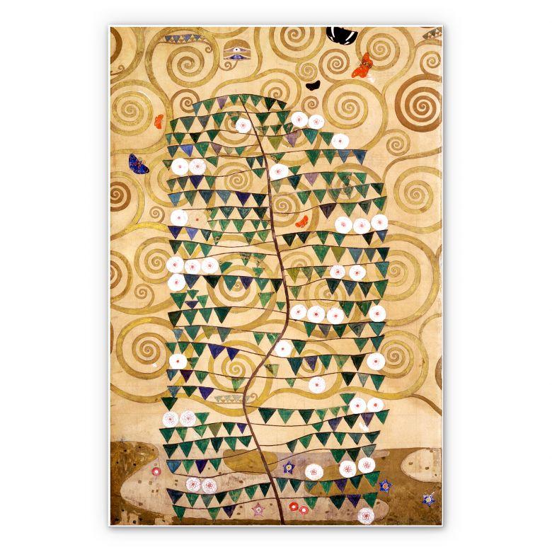 Wandbild Klimt - Entwurf für den Stocletfries