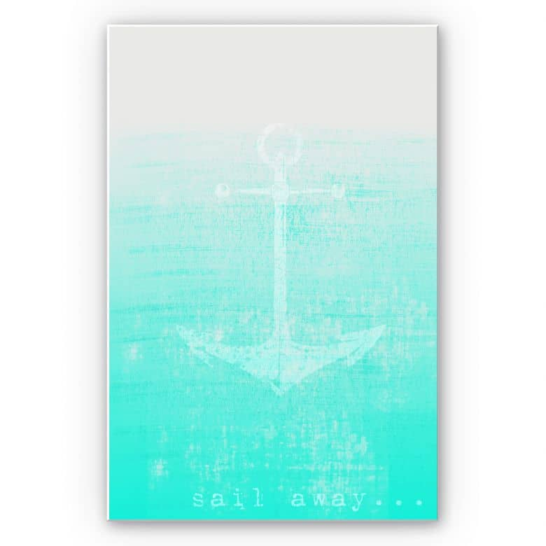 Wandbild Sail away