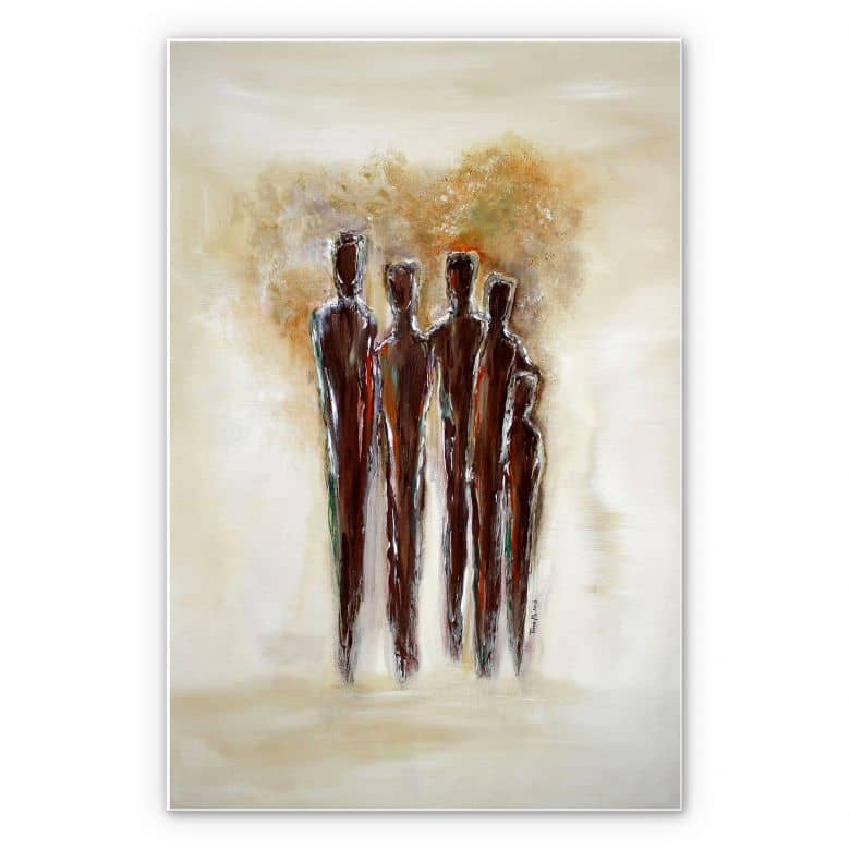 Wandbild Melz - Zusammen