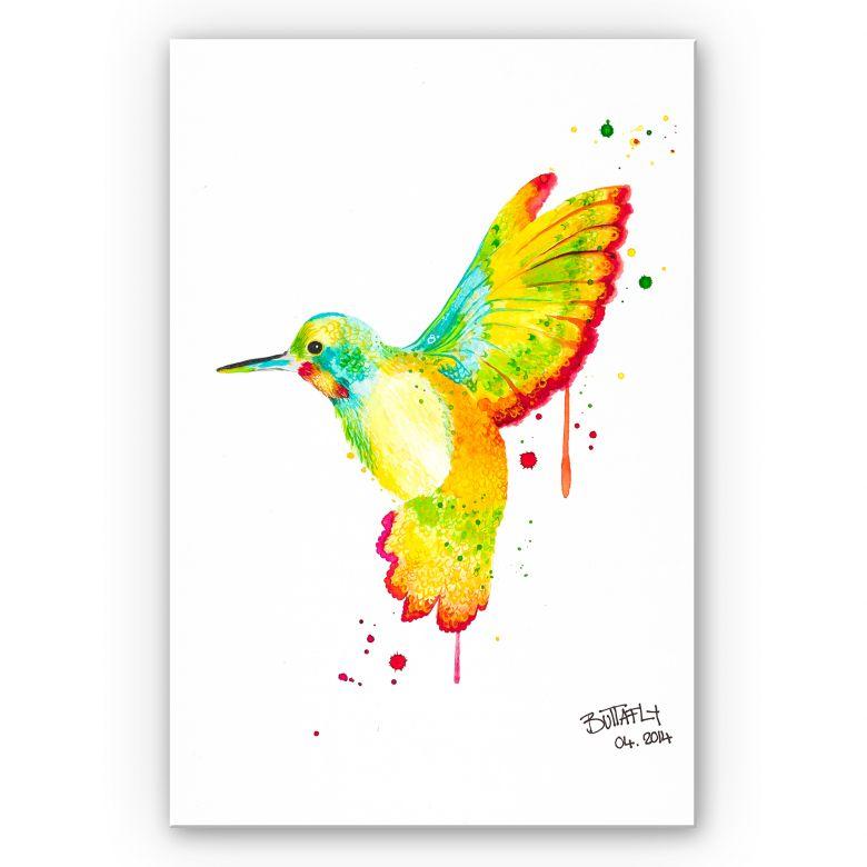 Wandbild Buttafly - Kolibri