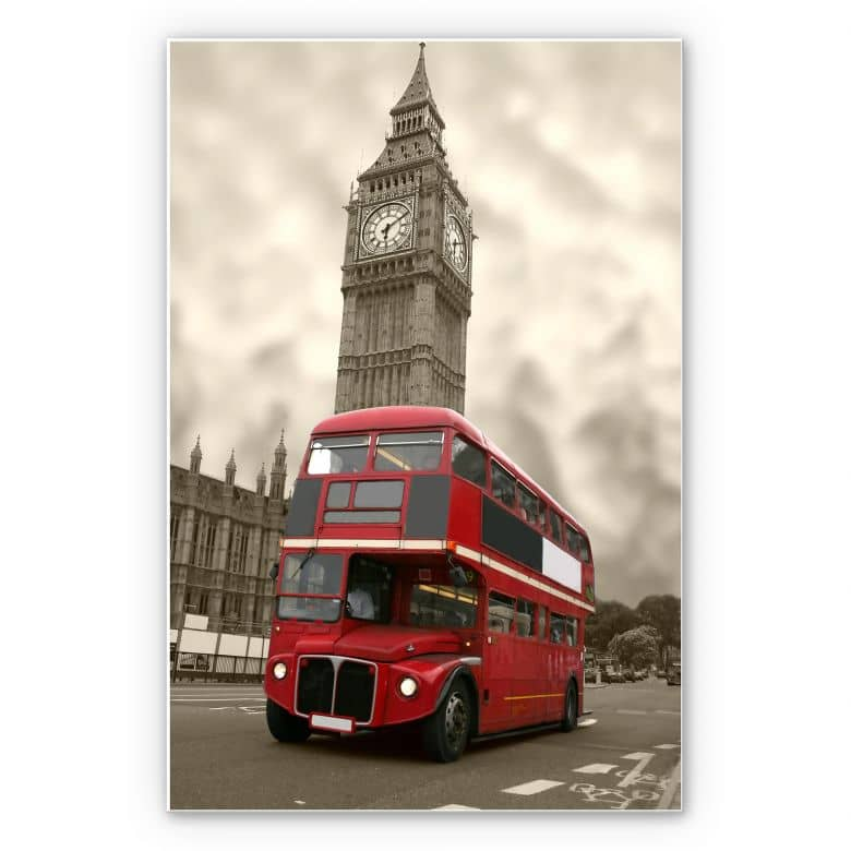 Wandbild Visit London