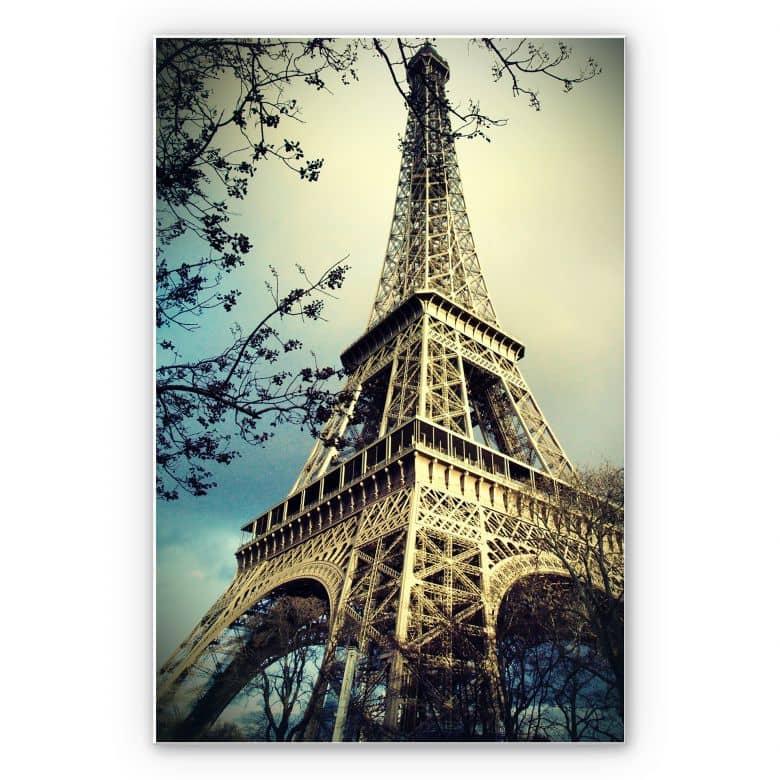 Wandbild Paris Eiffelturm