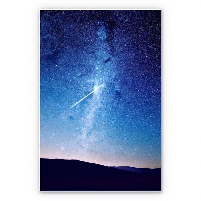 Wandbild Moon Trance