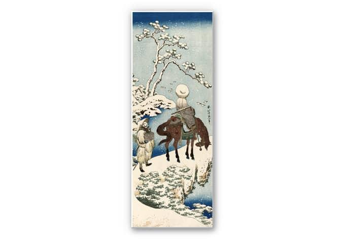 Wandbild Hokusai - Der chinesische Dichter Su Dongpo