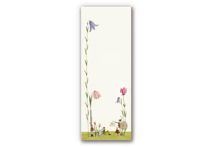 Wandbild Leffler - Blütenschnecke