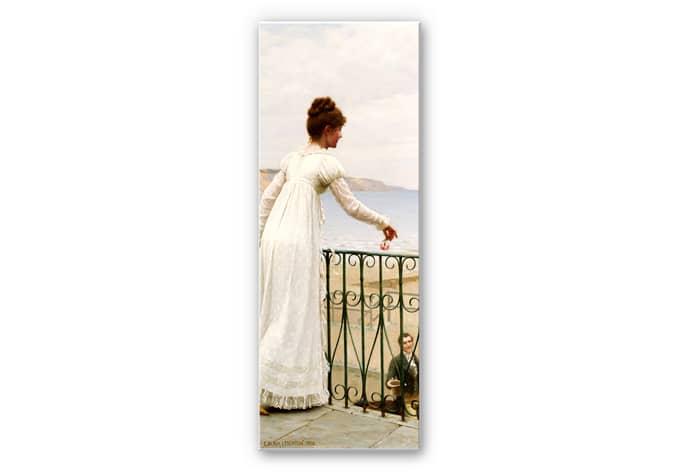 Wandbild Leighton - Die Gunstbezeigung - Panorama