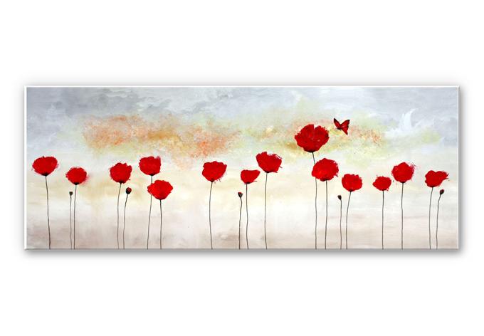 Wandbild Melz - Little Butterfly - Panorama