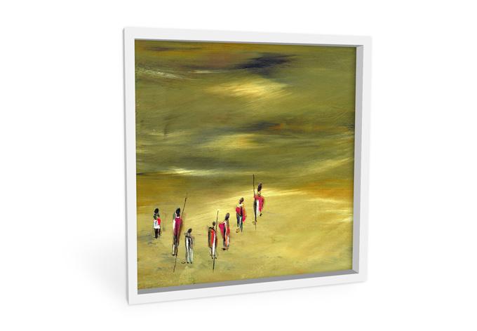 Wandbild Niksic - Die Wanderer