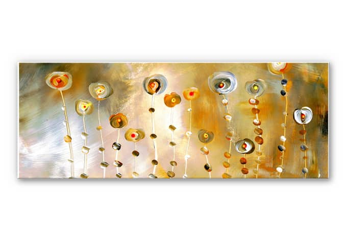 Wanddecoratie Niksic - Golden Eye - Panorama