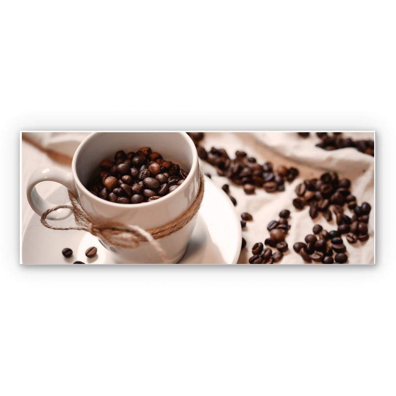 Wandbild Kaffee Zauber - Panorama