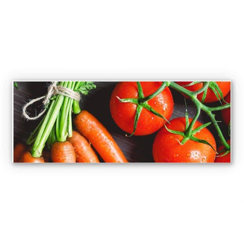 Wandbild Fresh Cooking - Panorama