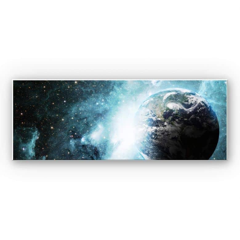 Wandbild In einer fernen Galaxie Panorama