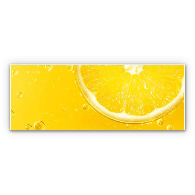 Wandbild Lemon Squeezy - Panorama