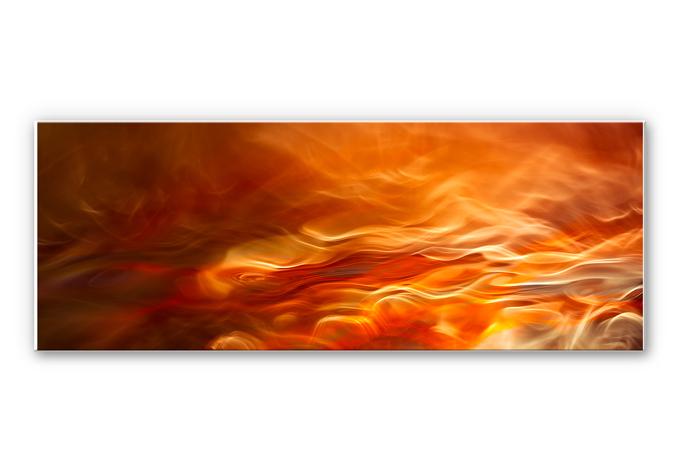 Wandbild Marthinussen - Burning Water - Panorama