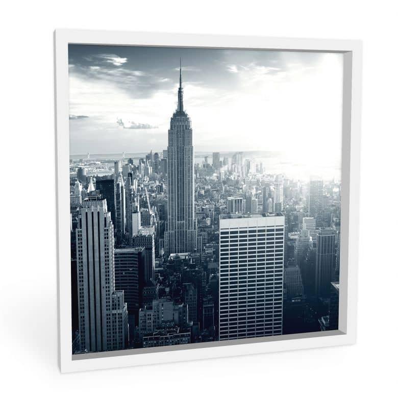 Wandbild The Empire State Building - quadratisch