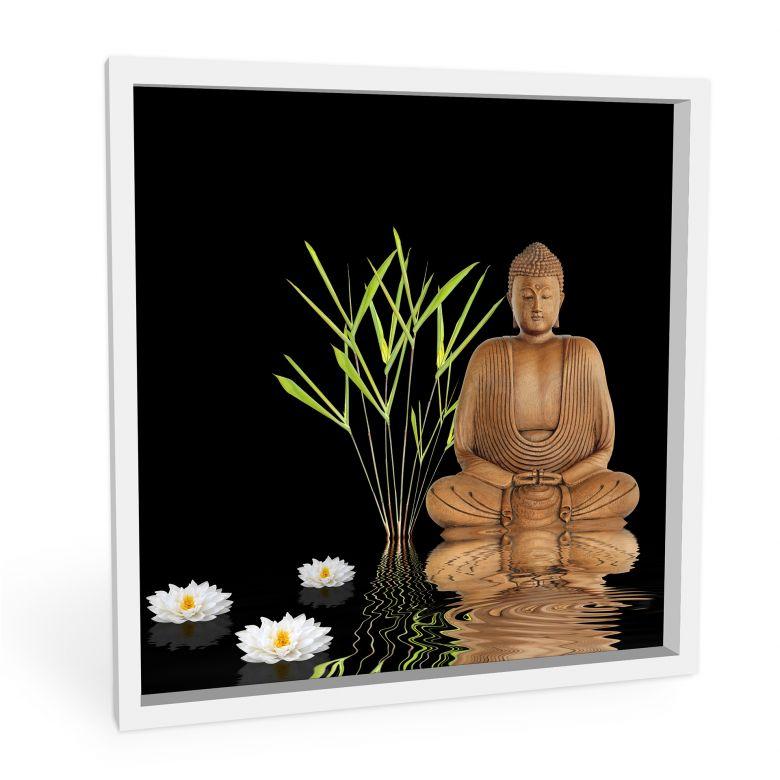 Wandbild Zen Buddha