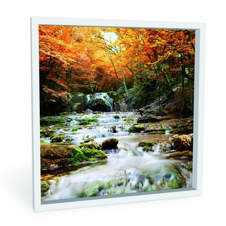 Wandbild Autumn Waterfall