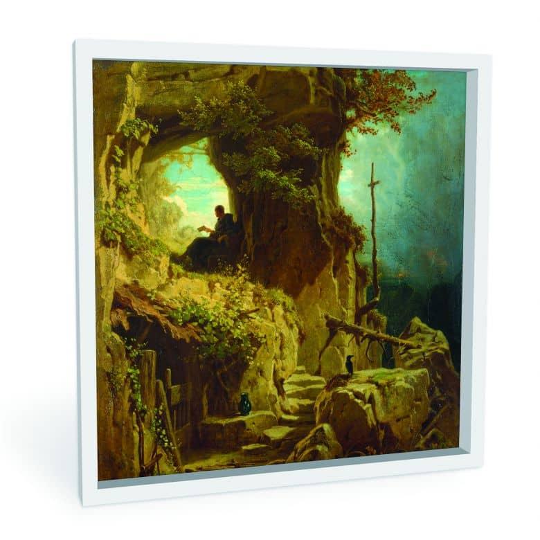 Wandbild Spitzweg - Der Einsiedler