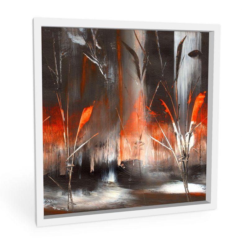 Wandbild Niksic - Feuer und Asche