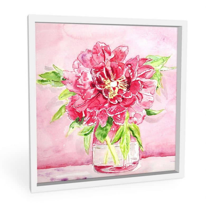 Wandbild Toetzke - Bouquet for Mavis - quadratisch