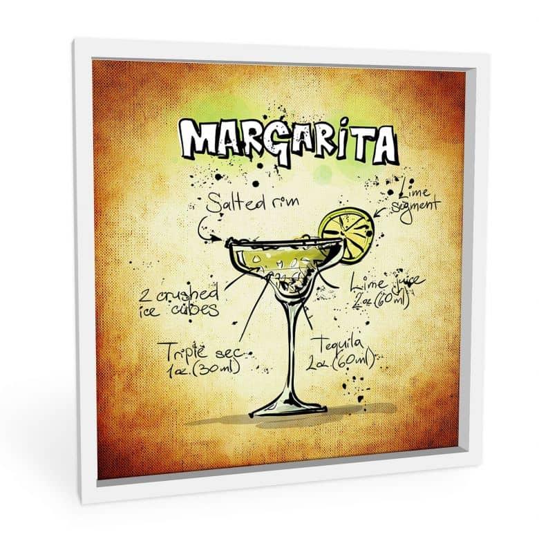 Wandbild Margarita - Rezept