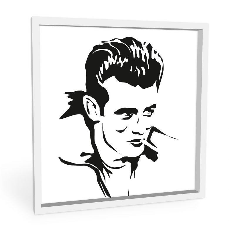 Wandbild James Dean