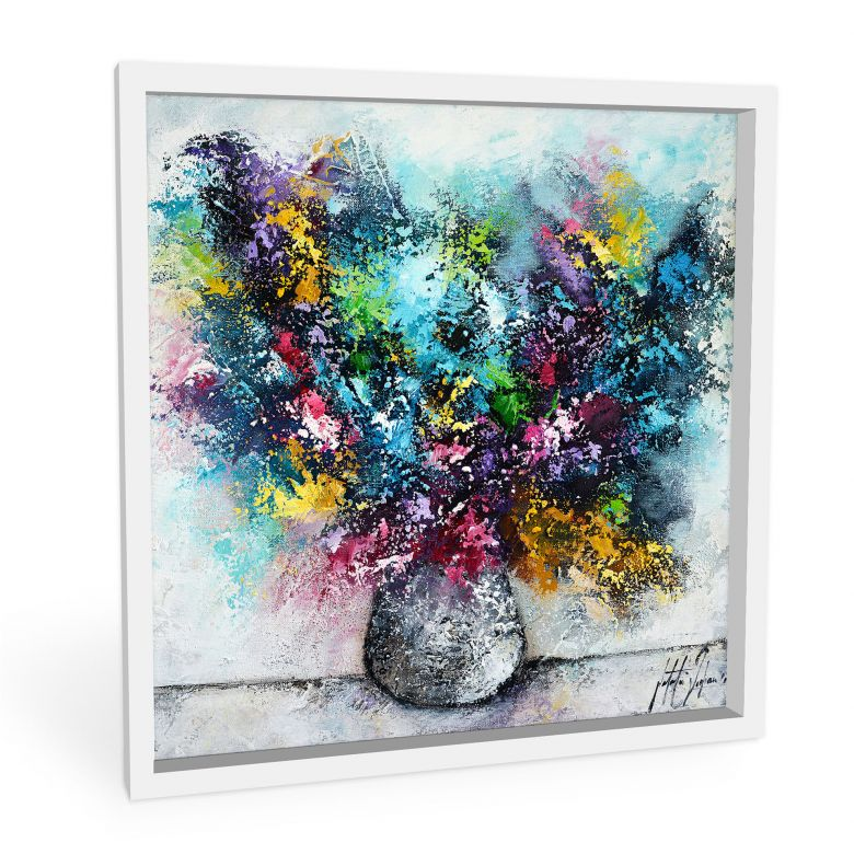 Wandbild Fedrau - Lass Blumen sprechen 01