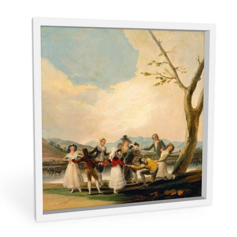 Wandbild de Goya - Das Blindekuhspiel