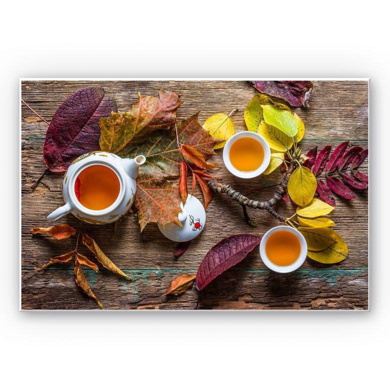 Wandbild Aristov - Tea of September