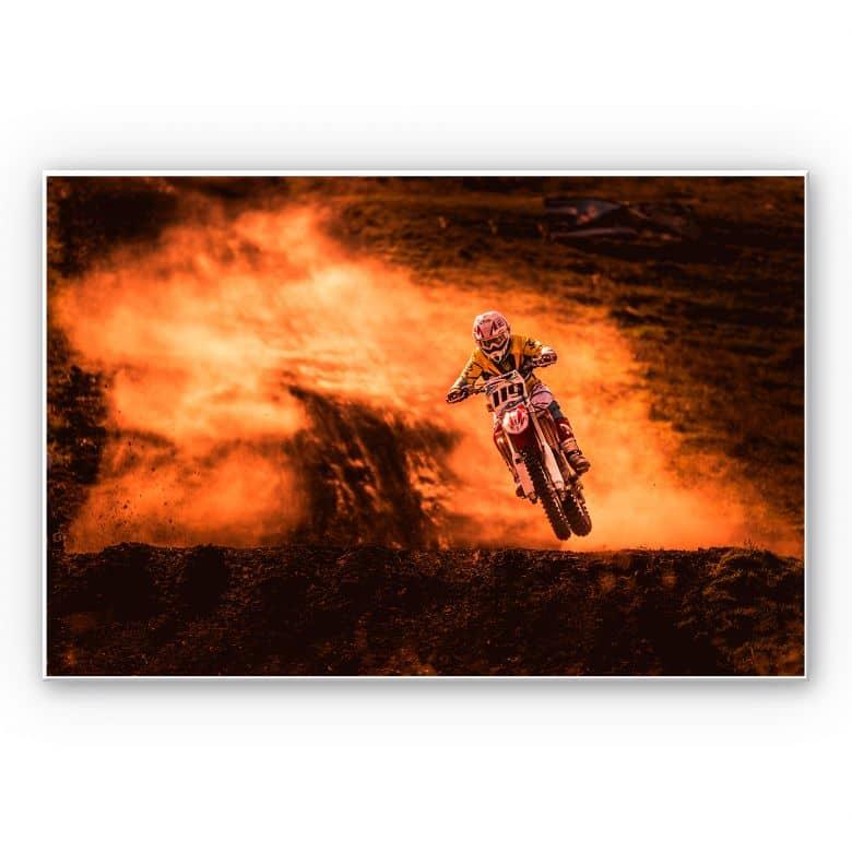 Wandbild Igor - Motorcross