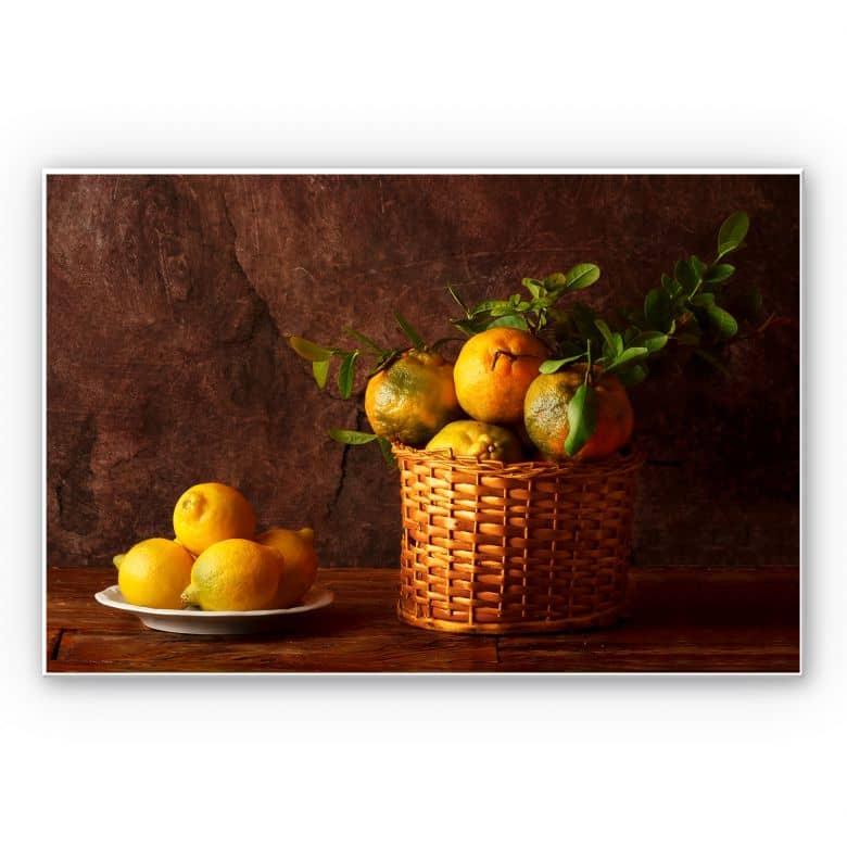 Wandbild Laercio - Farmers Lemons