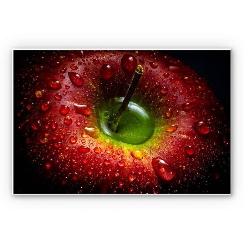 Wandbild Ianeva - Roter Apfel