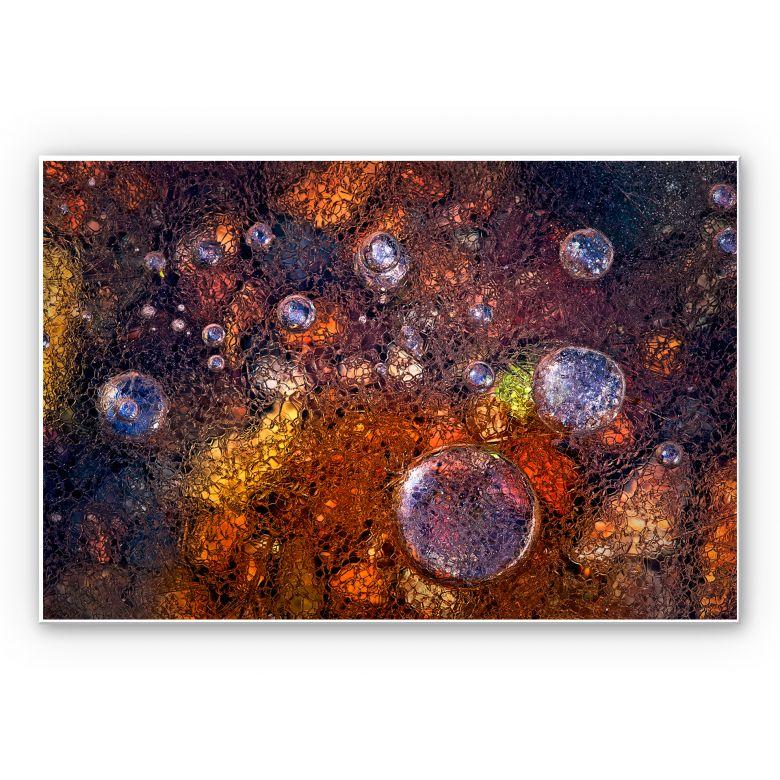 Wandbild Giudici - Abstraktes Glas